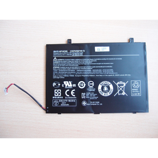 Original ACER Aspire Switch11 AP14C8S Battery