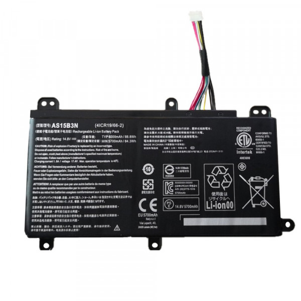 Acer AS15B3N Predator 15 G9-591G G9-592 Predator 17 G9 laptop battery