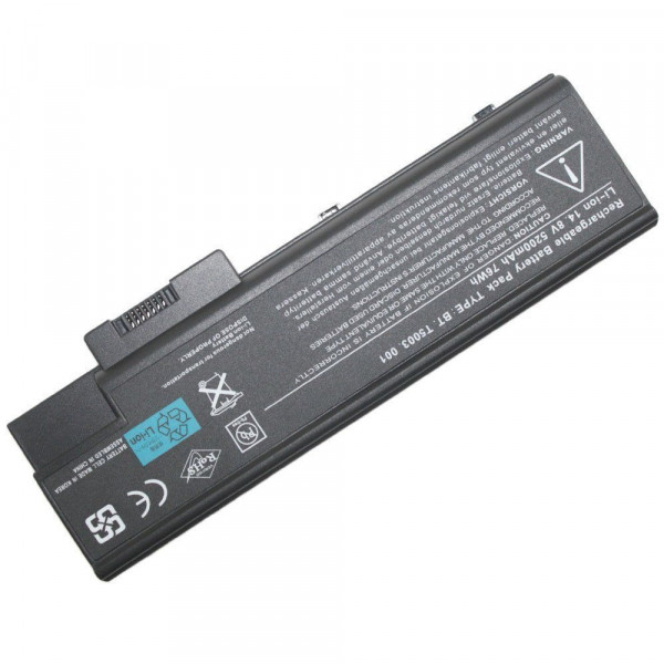 Replacement Acer Aspire 1411WLMi 1415LMi 1641LM 1641LMi 1642 Battery
