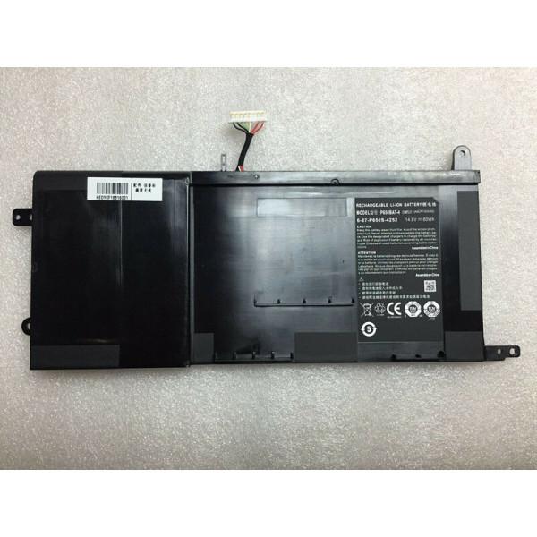 P650BAT-4 60Wh battery for Clevo P650SE P650SA SAGER NP8650 HASEE Z7-I7