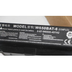 Clevo W650BAT-6  6-87-W650S-4D7A2 W650 W650RB W650RC W650S laptop battery