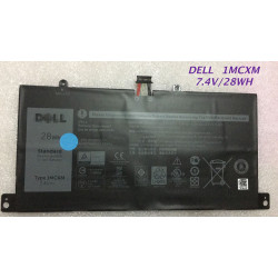 28Wh Genuine Dell 1MCXM G3JJT Built-in Battery