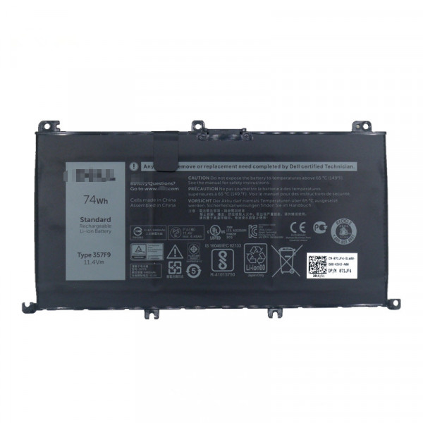 74Wh 357F9 Replacement Battery for Dell Inspiron 7000 Dump 15 7557 7559 INS15PD
