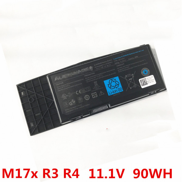 Genuine Dell Alienware M17X R3 R4 7XC9N 9 Cell 90WH BTYVOY1 Battery