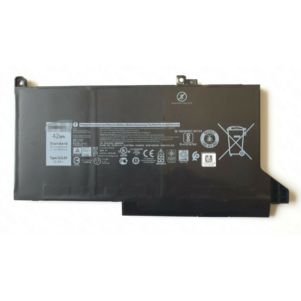 DJ1J0 42Wh Battery for Dell Latitude 12 7000 E7280 E7380 E7480