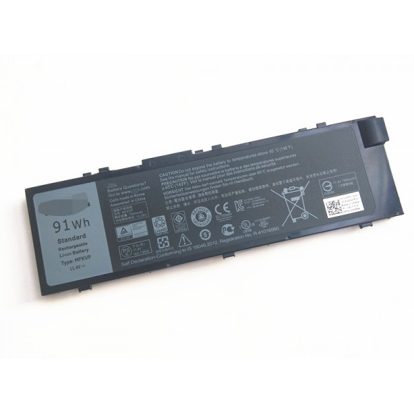 MFKVP 91Wh Battery For Dell Precision 7510 7710 7720 laptop