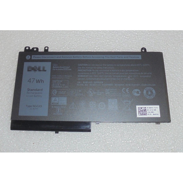 Dell Latitude E5470 E5270 954DF NGGX5 4-cell 47Wh Laptop Battery
