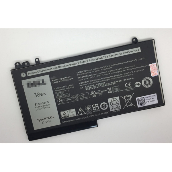 Dell RYXXH 09P4D2 9P4D2 Latitude 12 5000 E5450 E5550 E5250 laptop battery