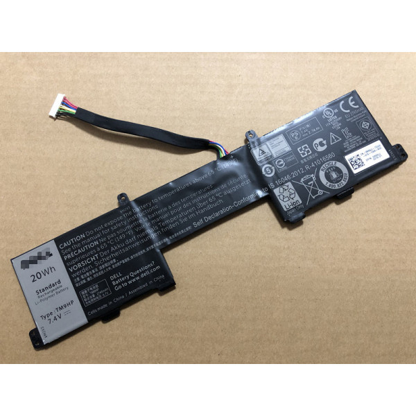TM9HP Battery Pack For Dell FRVYX 0FRVYX Latitude 13 7350 20Wh 7.4V