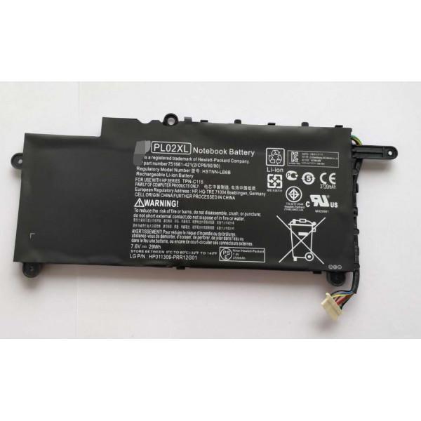 Hp PL02XL Pavilion 11-N010DX 751875-001 7.6V 29Wh Laptop Battery