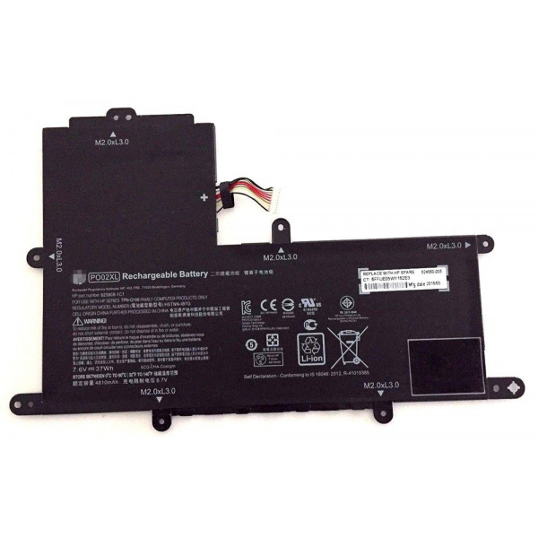 Hp Stream 11-r015wm PO02XL 824560-005 823908-1C1 Battery