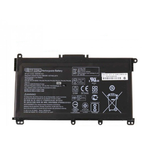 Hp Pavilion 15-CD  TF03XL HSTNN-LB7X HSTNN-LB7J Laptop Battery
