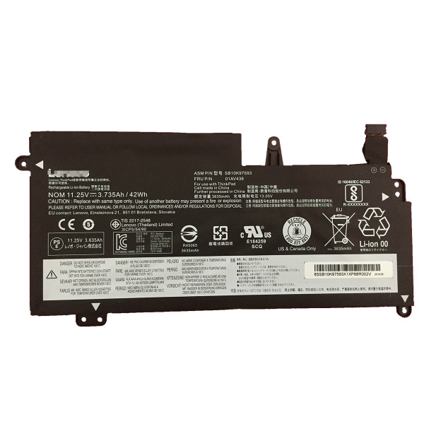Lenovo 01AV400 01AV401 01AV402 01AV436 laptop battery