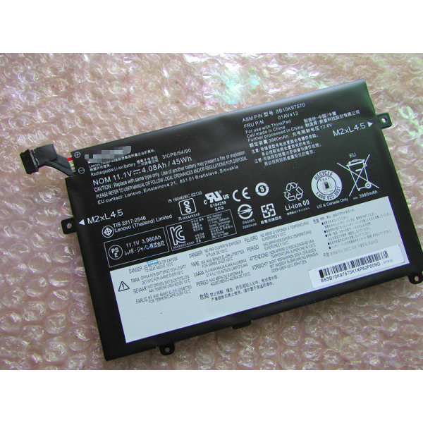 Lenovo Thinkpad E470C E470 E475 01AV412 01AV413 4080mAh 45Wh laptop battery