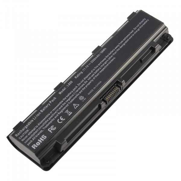 6 Cell Replacement Battery for Toshiba Satellite C850 C855D C855-S5206 C855-S5214 PA5024U-1BRS